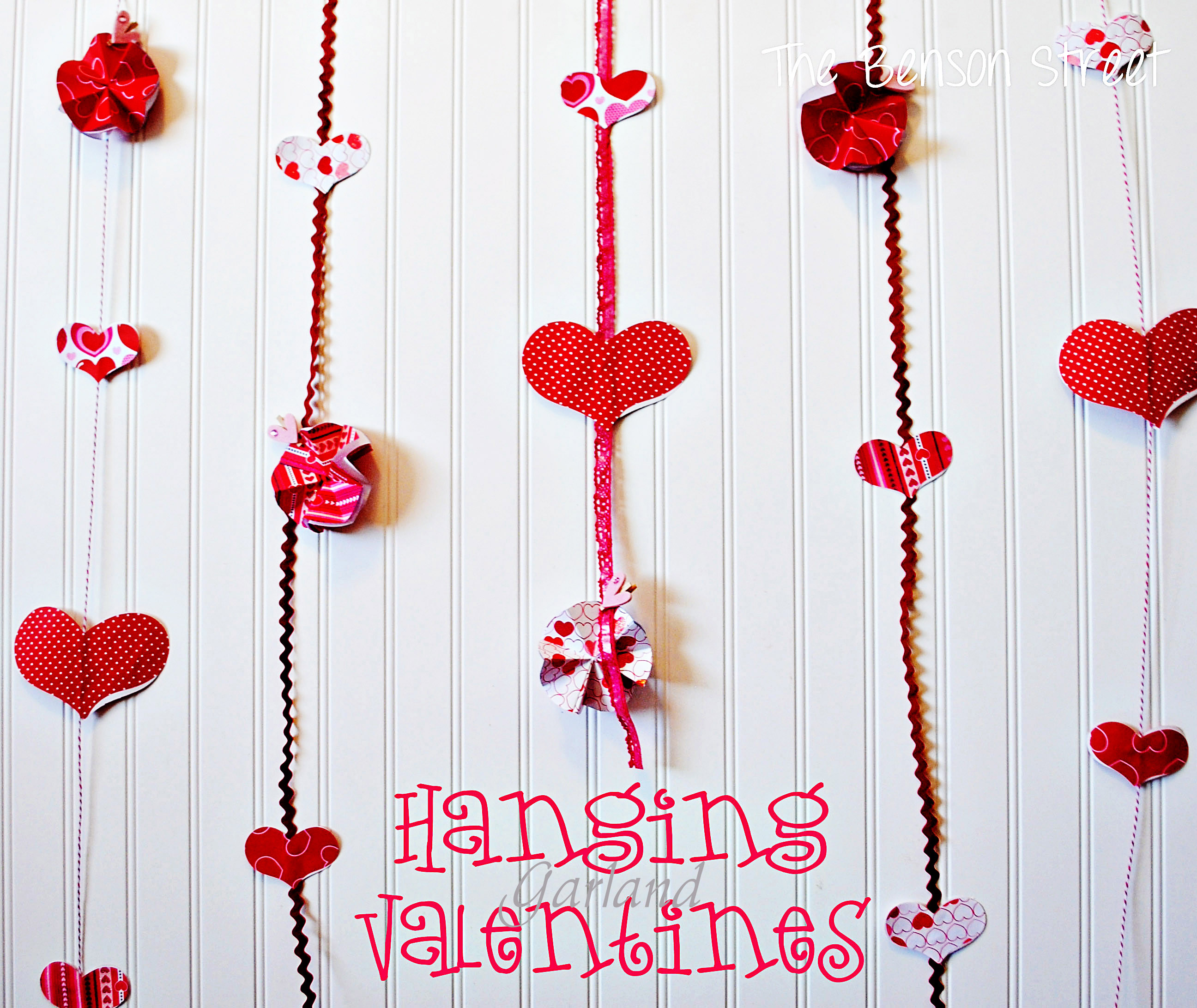Charming Home Decor Archives | The Benson StreetThe Benson Street Valentine Home  Decor Ideas