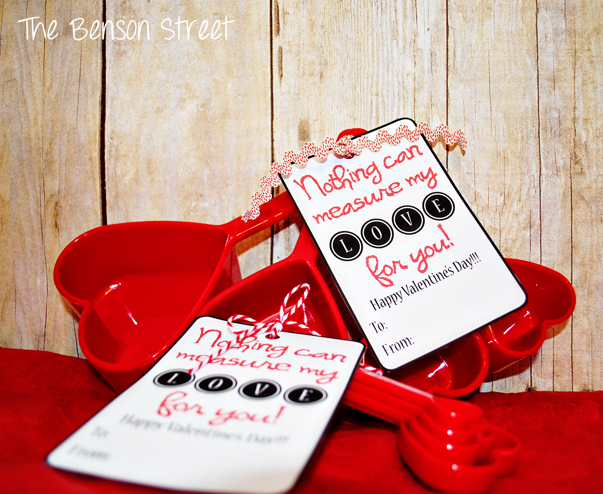 Measuring Cups Valentine Printable Valentines Day One