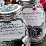 My Favorite Things Jars GIVEAWAY!!!!