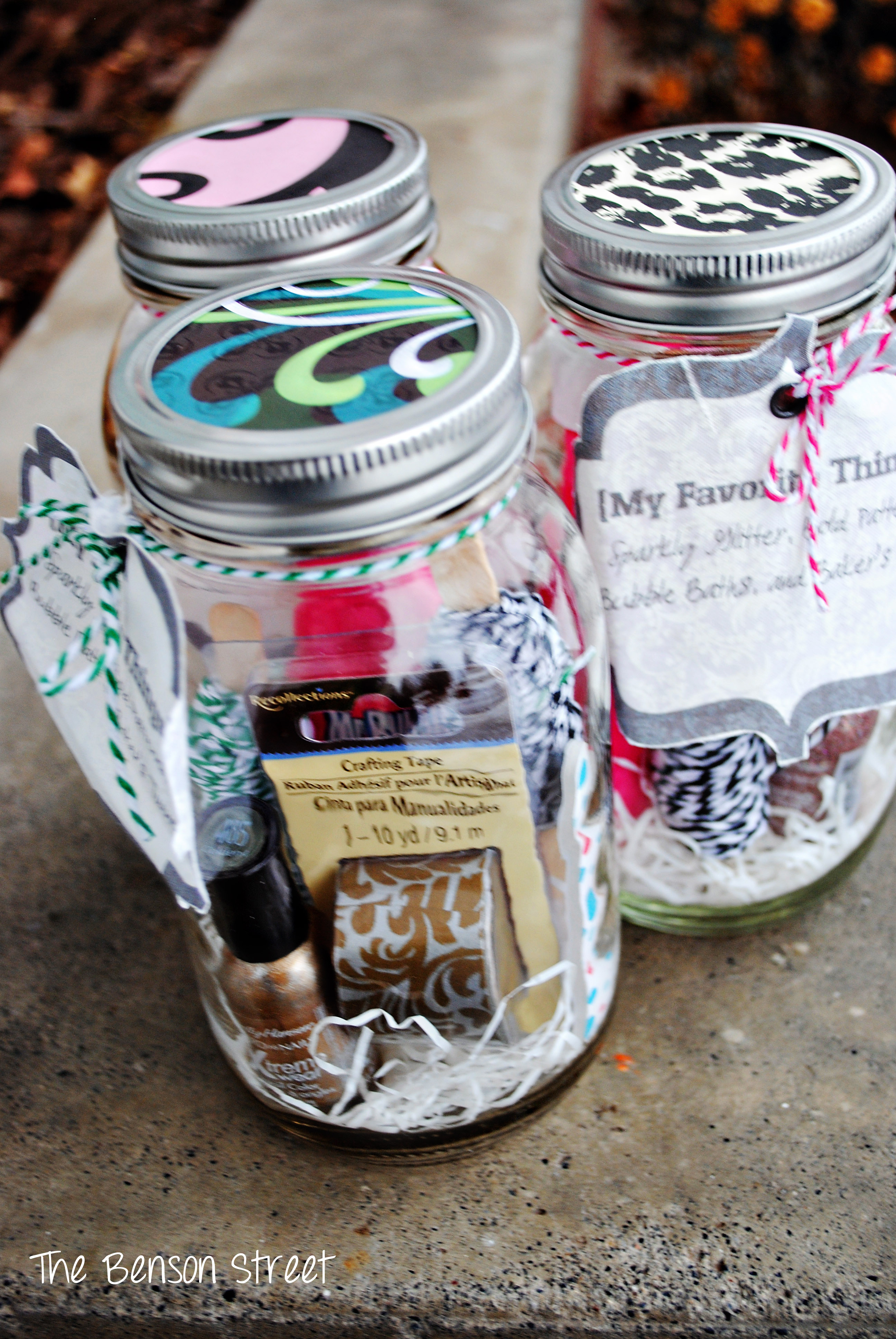 My Favorite Things Jars Amp Party The Benson Street