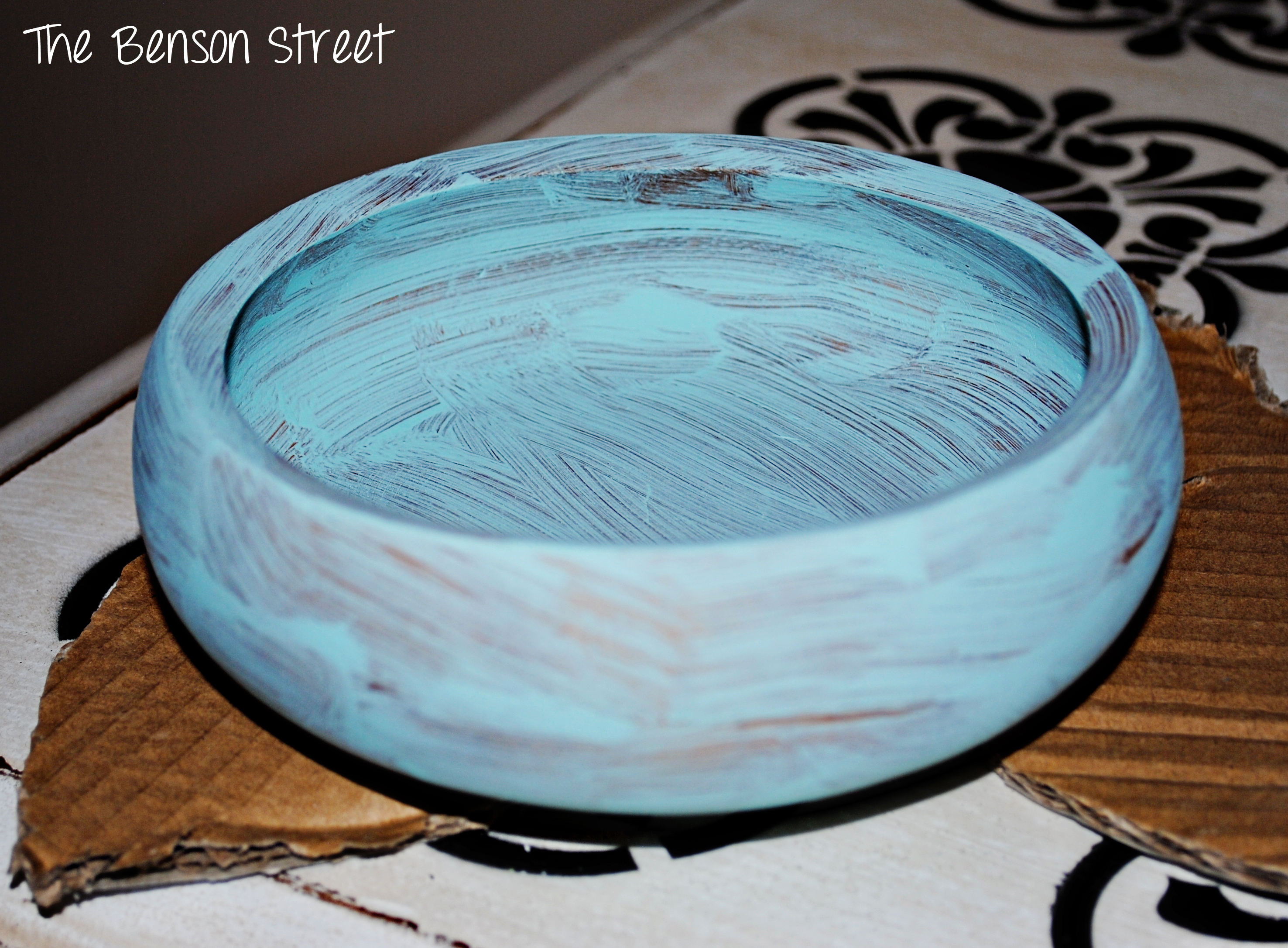 Pedestal Jewelry Dish Tutorial at thebensonstreet.com
