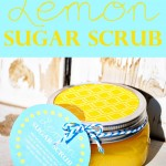 Easy Lemon Sugar Scrub