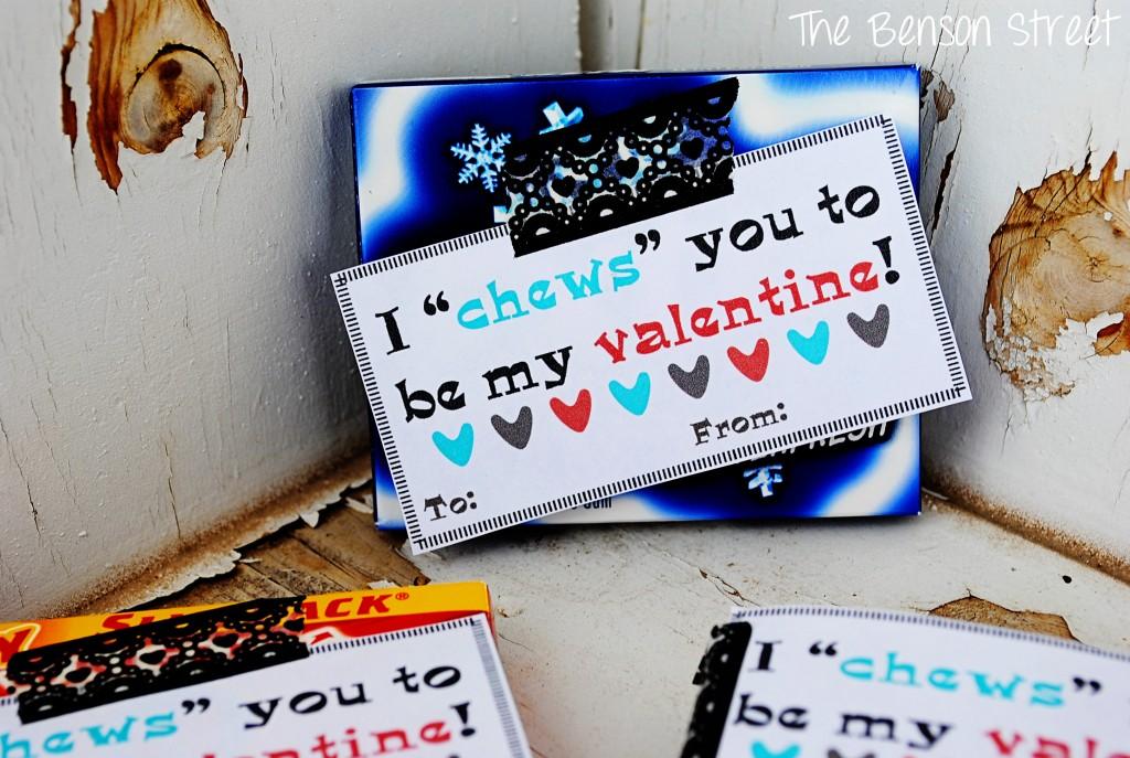 Chewing Gum Valentine at The Benson Street6