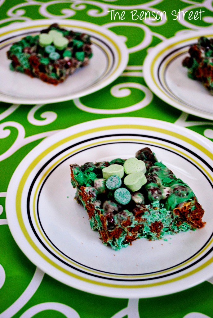 Leprechaun Bars at www.thebensonstreet.com 8
