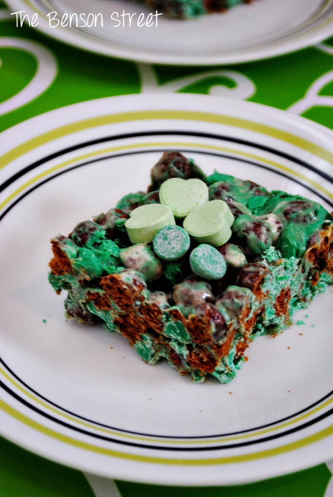 Leprechaun Bars at www.thebensonstreet.com 9
