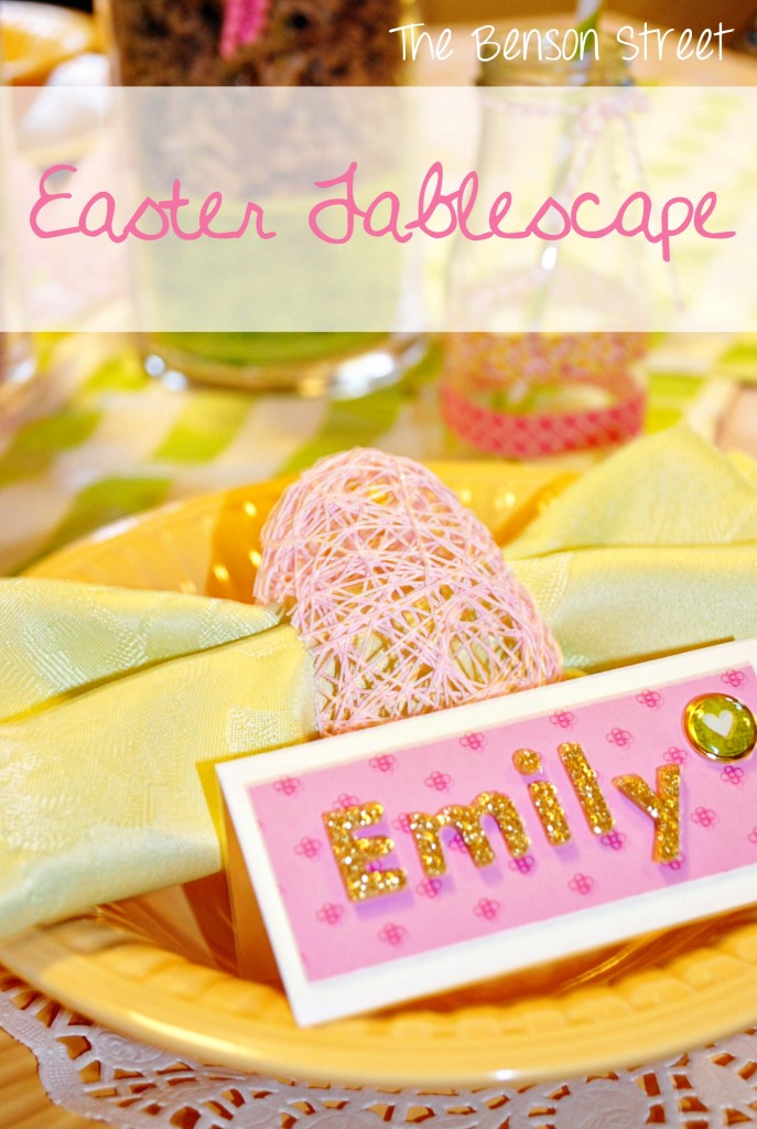 Easter Tablescape at www.thebensonstreet.com 11