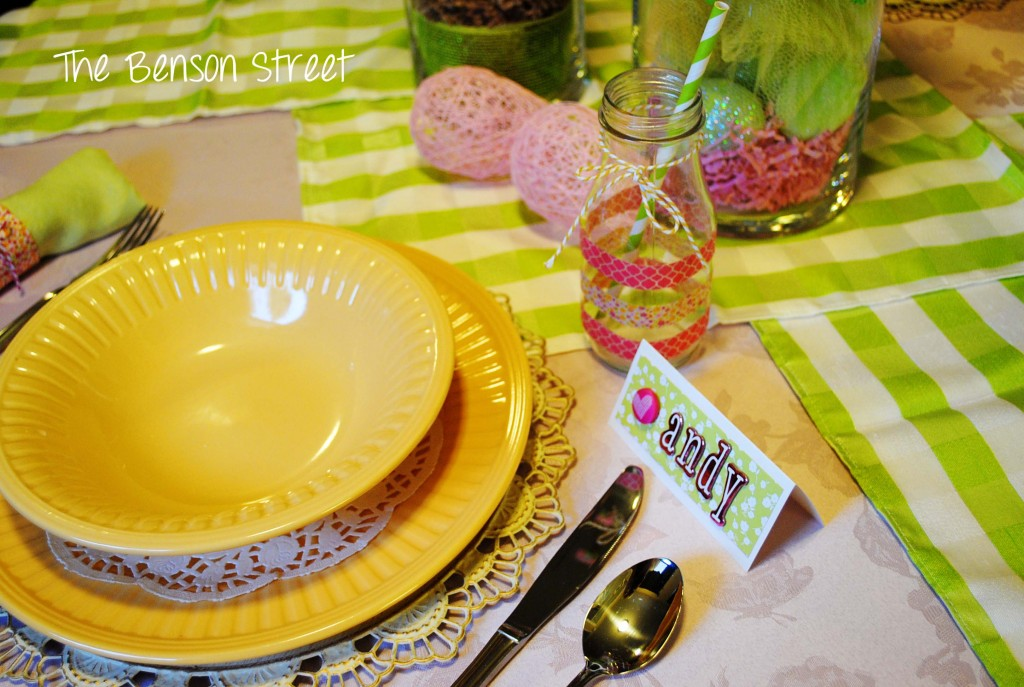Easter Tablescape at www.thebensonstreet.com 6