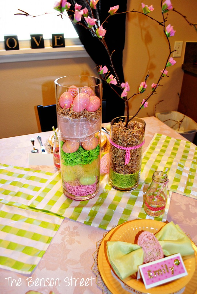 Easter Tablescape at www.thebensonstreet.com 9