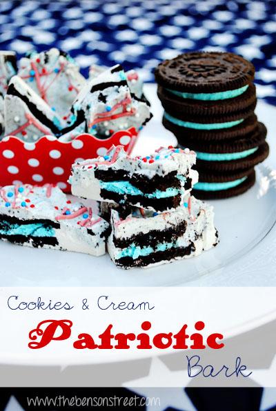 http://www.thebensonstreet.com/wp-content/uploads/2013/06/Patriotic-Cookies-Cream-Bark-at-www.thebensonstreet.com_.jpg