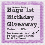 1st Birthday Giveaway!!!