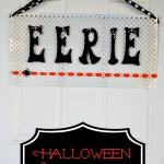 Halloween Door Sign