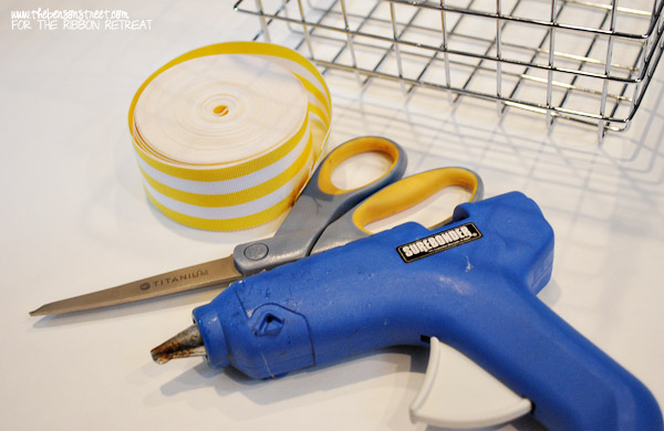 Wire Basket Redo Supplies