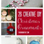 26 Easy DIY Ornaments