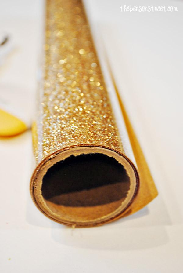 Gold Glitter Cricut Vinyl At Thebensonstreet Com