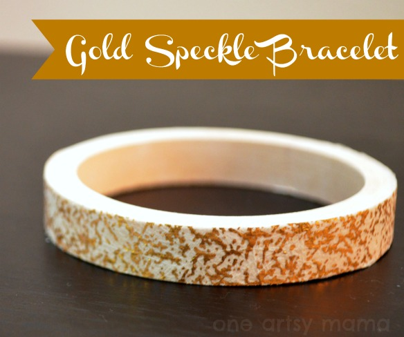 Gold Speckled Bracelet