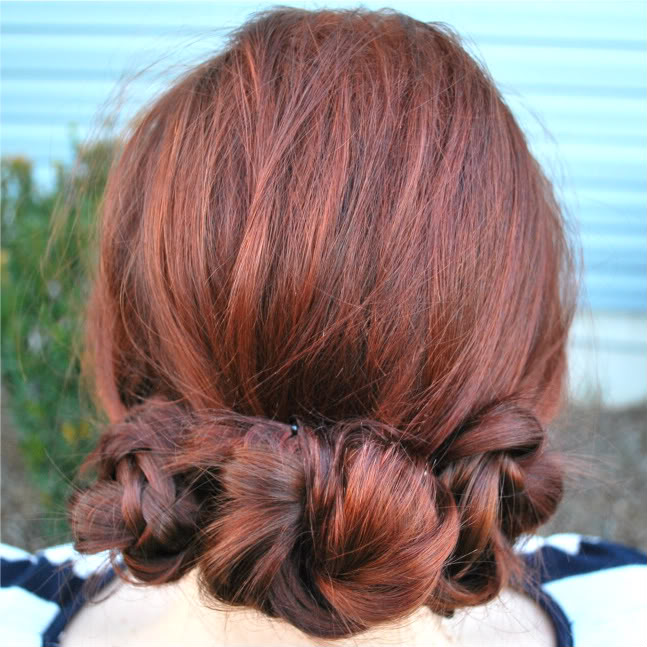 Three Braided Buns