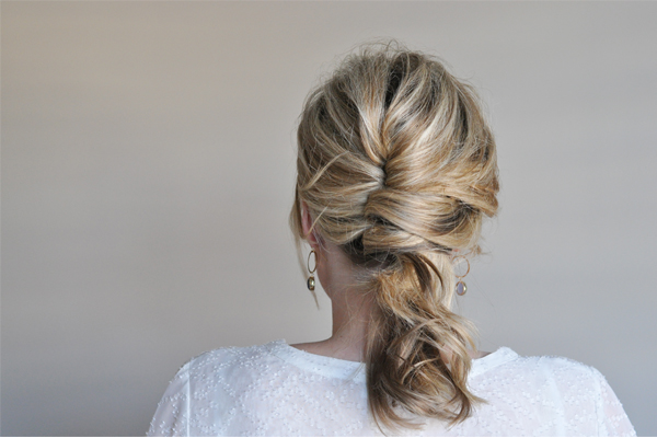 Undone French Twist