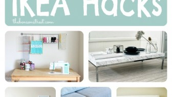 10 Beautiful Ikea Hacks at thebensonstreet.com