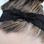 DIY Lace Headwrap