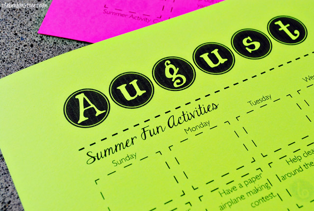 Lots of fun summer activities for kids at thebensonstreet.com