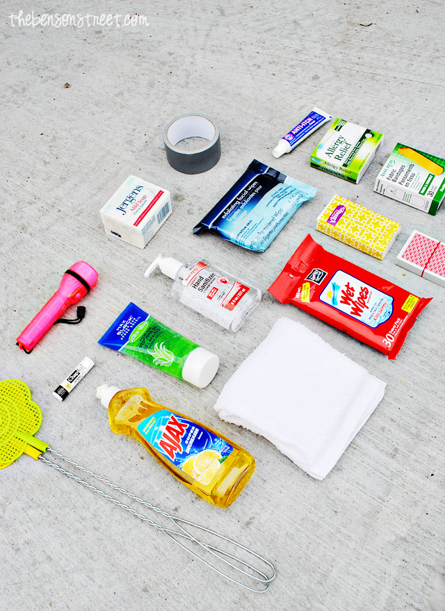 DIY Camping Survival Kit at thebensonstreet.com