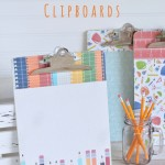 Homework Clipboards: Back to School Series