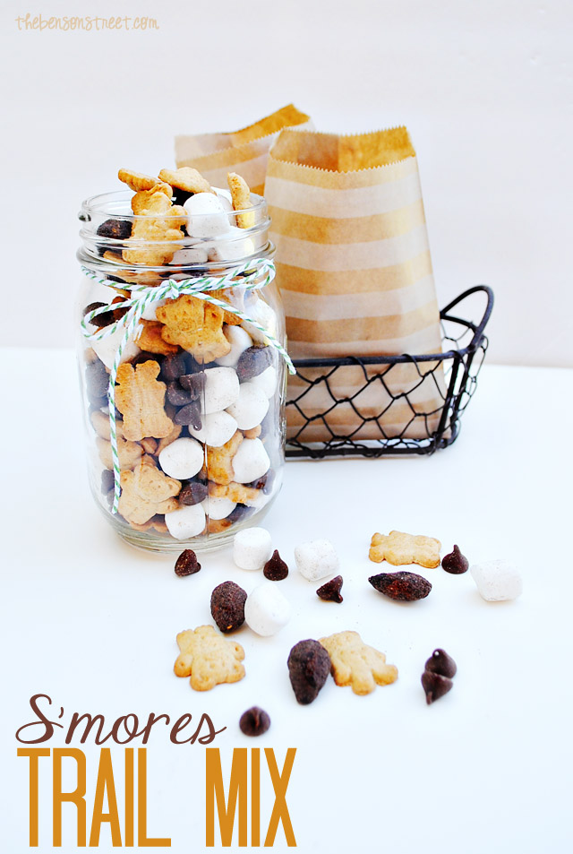 S'mores Trail Mix Recipe at thebensonstreet.com