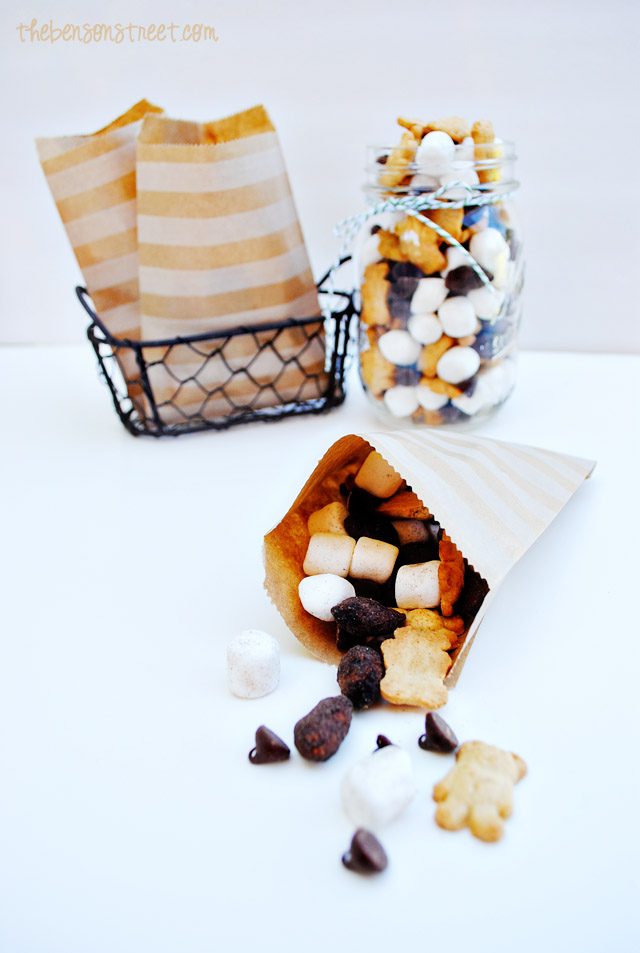 Summer S'mores Trail Mix