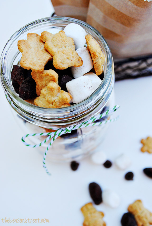 Yummy S'mores Trail Mix Recipe at thebensonstreet.com