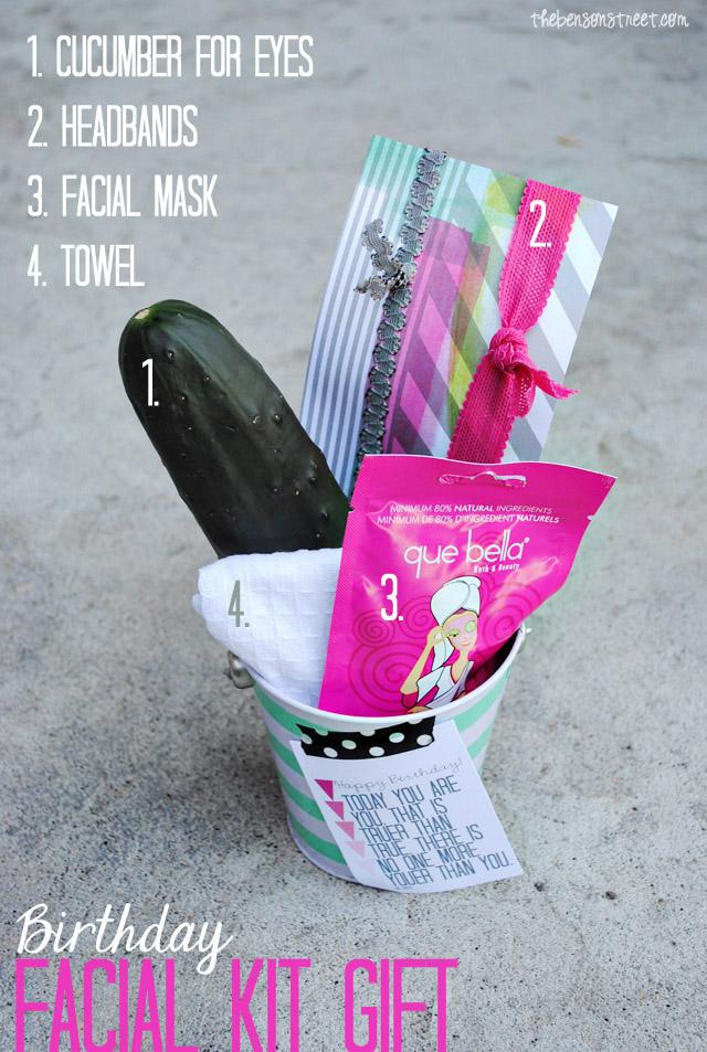 Birthday Facial Kit Supplies at thebensonstreet.com