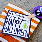 Adorable Party Treat Bags for Halloween at thebensonstreet.com