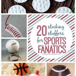 20 Stocking Stuffers for Sports Fanatics at thebensonstreet.com