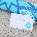 Door Mat Christmas Neighbor Gift