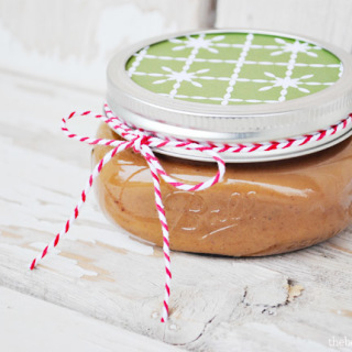 Easy gift idea, Chocolate Caramel Sauce at thebensonstreet.com
