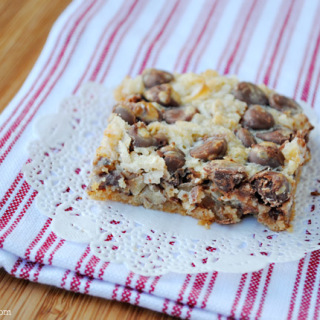 Magic Cookie Bars Recipe at thebensonstreet.com