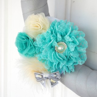Flower Cluster Wreath for all seasons at thebensonstreet.co