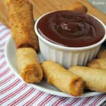 Yummy Chinese New Year Egg Rolls and Sweet and Sour Sauce at thebensonstreet.com