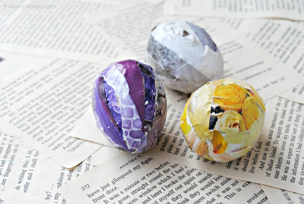 Beautiful and lovely Collage Easter Eggs at thebensonstreet.com copy