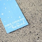 Cinderella Quote Bookmarks at thebensonstreet.com