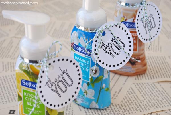 Softsoap Printable Thank You Gift