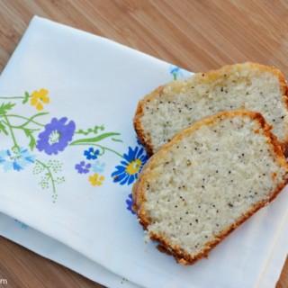 Citrus Glazed Poppy Seed Bread Recipe at thebensonstreet.com