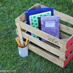 Vintage Crate Organization at thebensonstreet.com