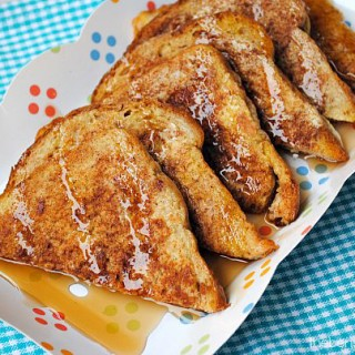 Yummy Recipe for Snickerdoodle French Toast at thebensonstreet.com