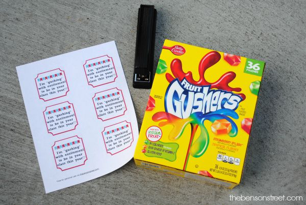 Easy Back To School Student Gifts Classroom Beginning Of The