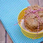 Yummy butterscotch oatmeal cookies at thebensonstreet.com
