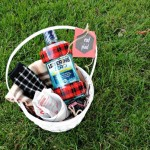 Great gift idea for the plaid lover! Rad Plaid Gift Basket and Printable Tag at thebensonstreet.com