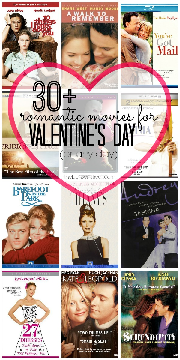 30+ romantic movies (chick flicks) for valentine's day - the, Ideas