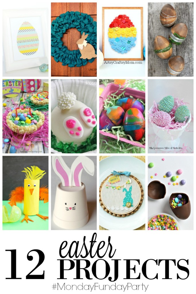 12 Easter Projects featured by #mondayfundayparty on thebensonstreet.com