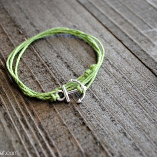 Easy Anchor Charm Bracelet at thebensonstreet.com